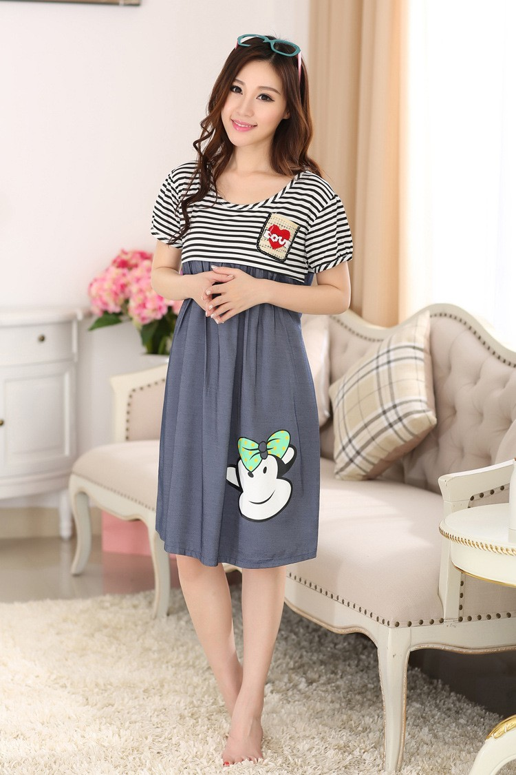 Nursing maternity pajamas (6)