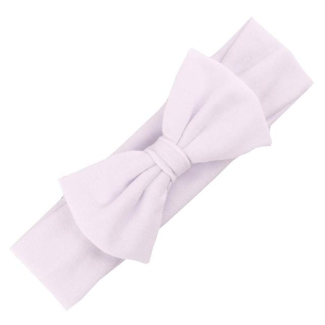 Baby's Soft Headbands with Bow-Knots