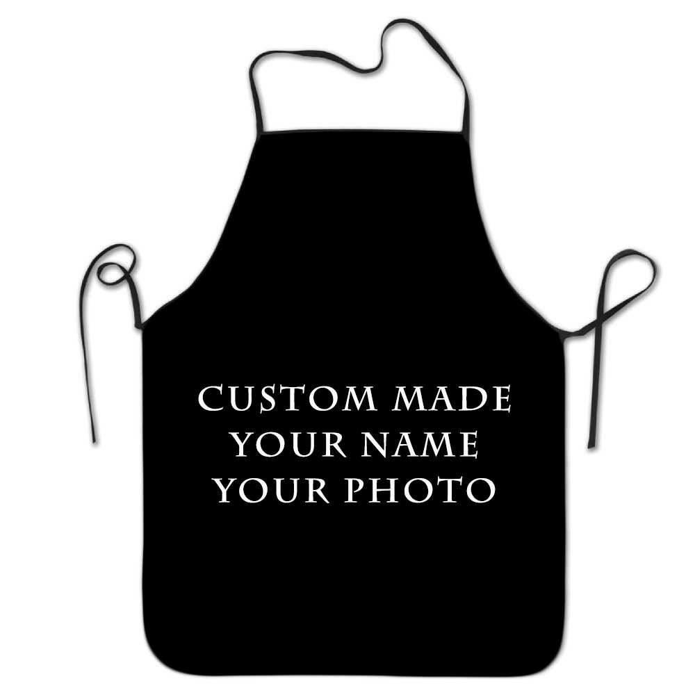 Customize Your Apron Grill Kitchen Chef Apron Professional for BBQ, Baking, Cooking for Men Women Adjustable