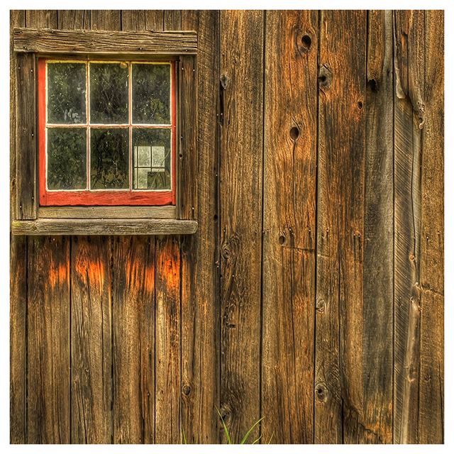 Edt 5x7ft Rustic Barn Door Wall Photography Background Yellow Wooden