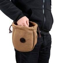 Tourbon chasse munitions coquilles pochette toile et cuir fusil de chasse cartouches sac balle transporteur pistolet accessoires en gros