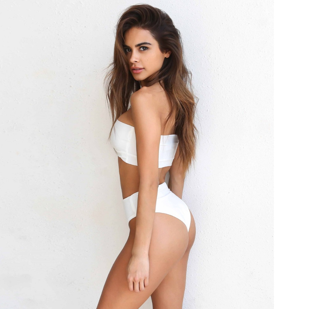 2017 New bathing Suits Women Evage Pitaya Wire Free  Low Waist Polyester bathing suit 3