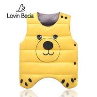 LovinBecia Newborn Baby Side Open Waistcoats Clothes Kids Vests Jacket Boy Girls Clothes Winter Children Cotton