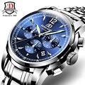 Watches Men Original BINKADA Automatic Watches Relogio Masculino Luxury Brand Waterproof Mechanical Watches Fashion Wristwatch