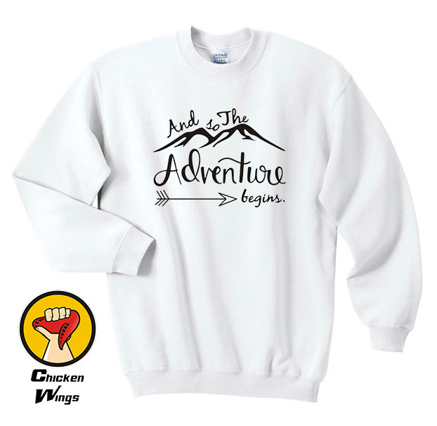 Adventure Sweatshirt Womens Travel Vacation Clothes Mountains Gift for her-D200