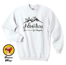 Adventure Sweatshirt Womens Sweatshirt Travel Vacation Sweatshirt Clothes Mountains Sweatshirt Adventure Gift for her-D200 sweatshirt brokers sweatshirt