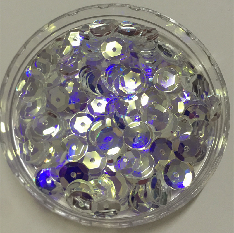 Great for sewers, Skaters, costumers, Theatrical Productions, Pageants Rhinestones /& Sequins 10mm Flat Loose Paillettes ~ Premium Mirror Crystal Iridescent Reflective
