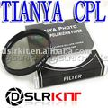 TIANYA Marca 52mm 52mm Polarizante Circular C-PL CPL PL-CIR