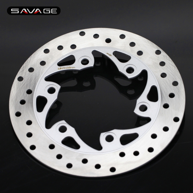 For SYM HD EVO 125 200 200i EURO, GTS 250 Motorcycle Accessories Rear Wheel  Brake Disc Rotor 230mm stainless steel-in Brake Disks from Automobiles &