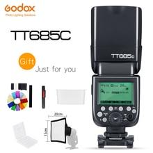 Godox TT685C/TT685N/TT685S/TT685F/TT685O 2.4G Draadloze Flash Master Slave Modus 1/8000 s HSS TTL Camera Flash voor Canon Nikon Sony