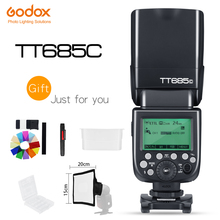Godox TT685C/TT685N/TT685S/TT685F/TT685O 2.4G Wireless Flash Master Slave Mode 1/8000s HSS TTL Camera Flash for Canon Nikon Sony