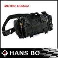 Envío gratis! 2014 nuevo bolso de la cintura negro moto de la motocicleta de la cintura del bolsillo de la carpeta aire libre bolsa conveniente HANS B 3