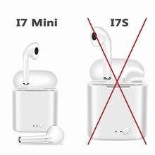 Лидер продаж M & J i7 Mini Bluetooth 5,0 TWS Малый беспроводной наушники с зарядным устройством стерео i7s для Apple Airpod i10 i11