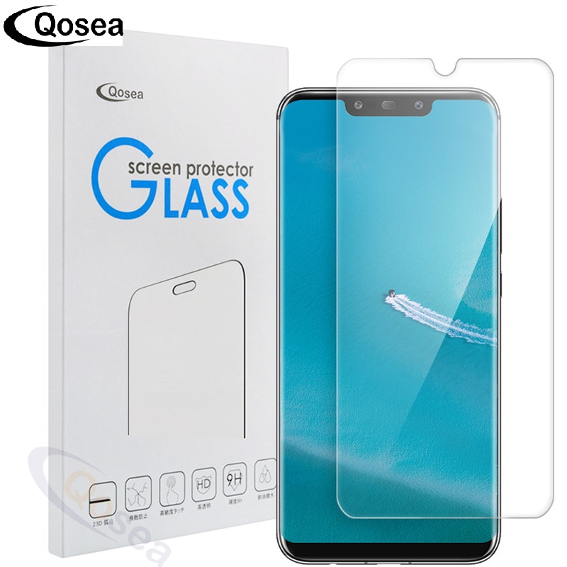 Qosea For Huawei Mate 20 Screen Protector 9H Ultra-thin Clear Explosion-proof Film For Huawei Mate 20 Lite 20 Pro Tempered Glass