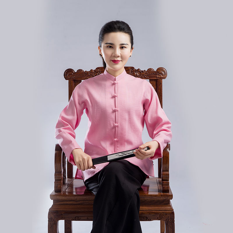 Tai Crm Uniform Woman Summer Short Sleeve Male Clothing Thin  Martial Art Practiceclothes  Taiji Boxing Set
