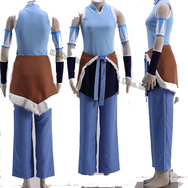 Popular Avatar The Last Airbender Katara cosplay costume womenu0027s costume customized & Popular Avatar The Last Airbender Katara cosplay costume womenu0027s ...