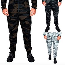 SHUJIN Mens Camouflage Casual Pants Male Jogger Pencil Harem Pants Hip Hop Men Military Pants Loose Soft Joggers Trousers New(China)