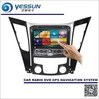 For Hyundai Sonata I45 2009 2014 Car Radio CD DVD Player Amplifier HD TV Screen GPS