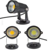 50pcs IP65 Outdoor Landscape LED Lawn Light Lamp AC85 265V DC12V 7W COB Garden Spot Light