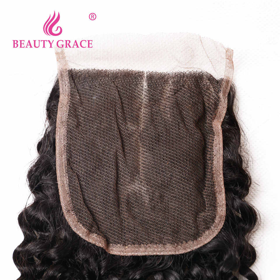 Jerry Curl натуральные волосы с закрытием 2 3 4 бразильские кудрявые волосы без повреждения кутикулы пучки с закрытием завитые волосы пучки с закрытием