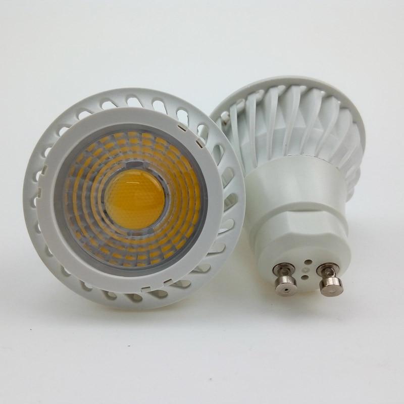 gu10 mr16 cob led spot light bulbs 110v 220v 12v 7w dimmable spotlight 7 watt spotlights lamp. Black Bedroom Furniture Sets. Home Design Ideas
