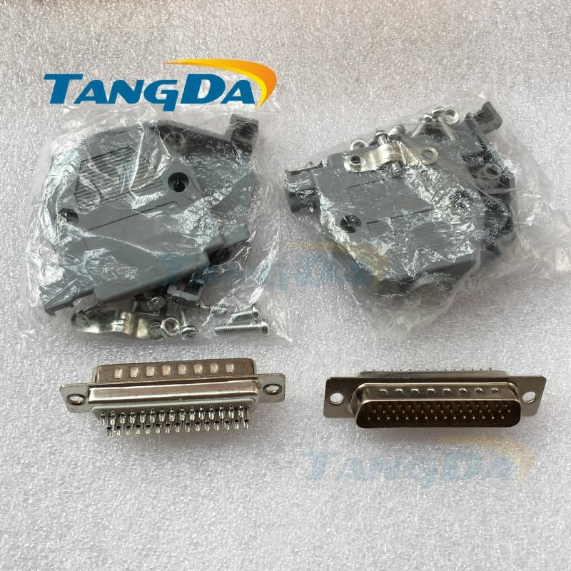 Tangda ASD-B2-041-B Connectors Servo encoder plug CN1 connector 44 pin driver 44p ASD B2 041 B Encoder A. 1pcsblack 24 pin plug ecu cng vehicle conversion plug computer connectors dj7242 1 5 2 8 11