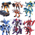 Dragon Action Figures Toys  Movie 4 Children Anime Cars Brinquedos Deformation Robot Classic Toys For Boys Menino Juguetes