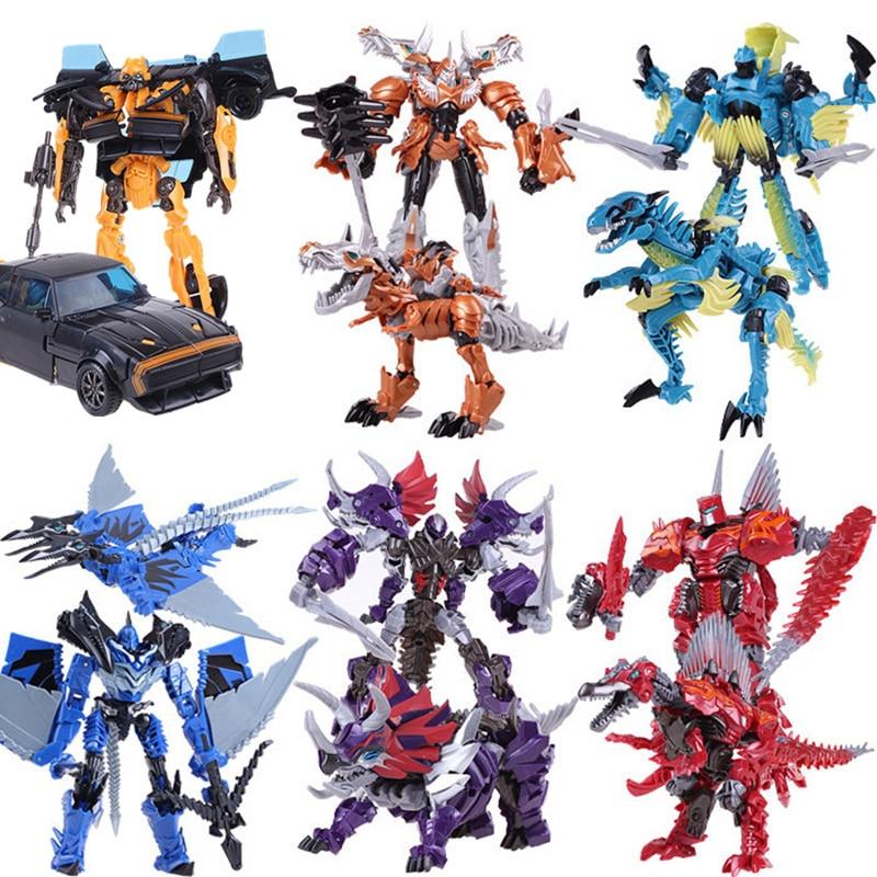 Dragon Action Figures Toys Movie 4 Children font b Anime b font Cars Brinquedos Deformation Robot