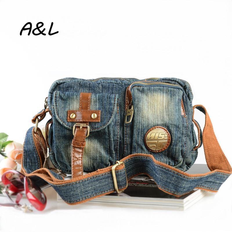 Designer Handbags High Quality Women Messenger Bags Denim Shoulder Bag Small Crossbody Bag Phone Package Sac
