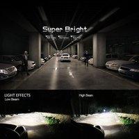 5 шт. H7 автомобиля светодиодный фар 12 В 6000 К 60 Вт чипы фары автомобиля светодиодный головной свет лампы