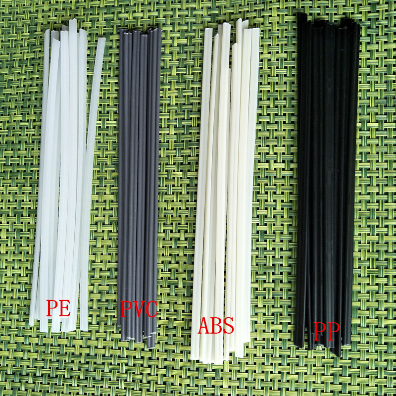 High Quality Plastic Welding Rod PP PE ABS PVC PPR Plastic Products Black And White Automobile Bumper Welding