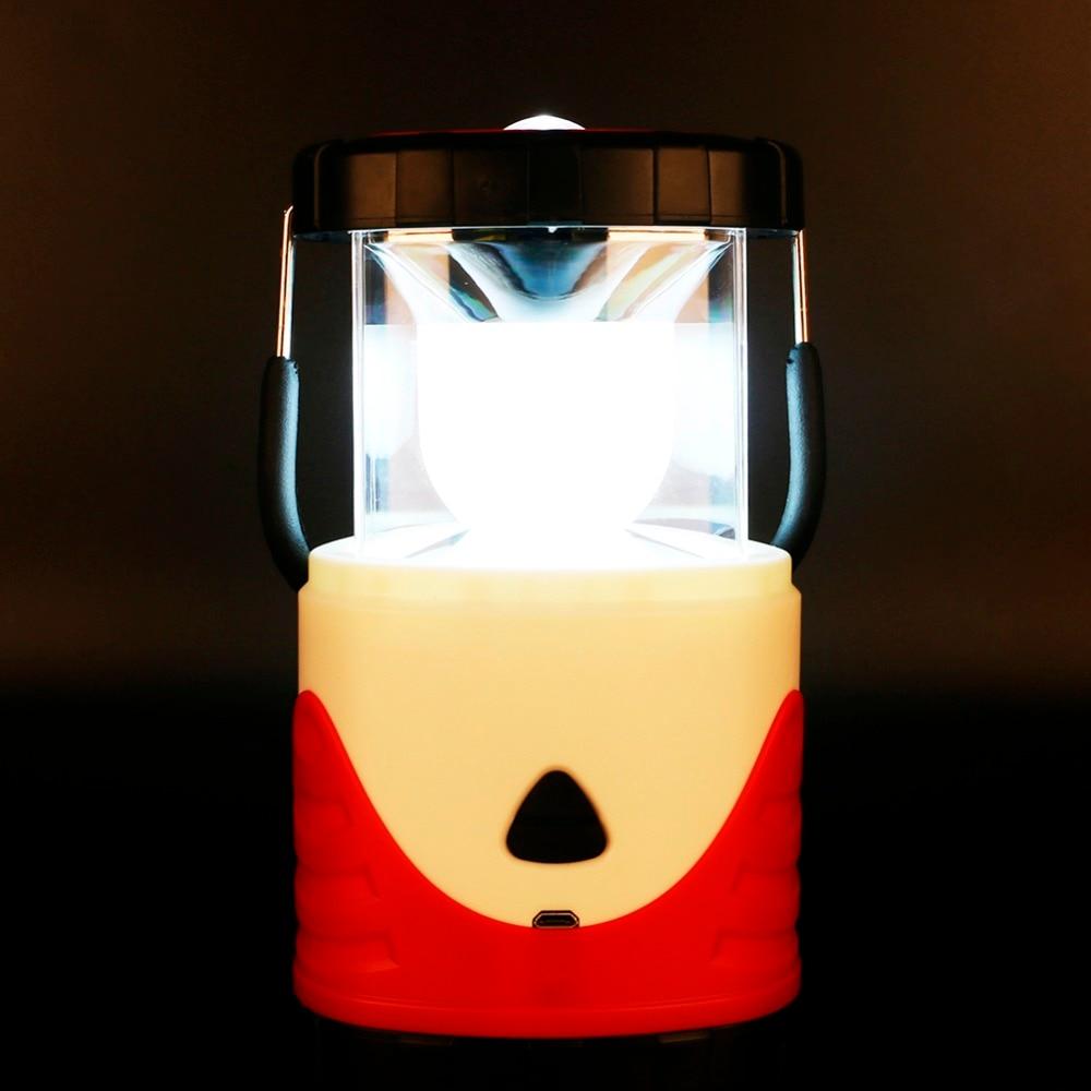 Tragbare Beleuchtung Zielstrebig Sanyi Tragbare Multifunktions Camping Licht Usb Wiederaufladbare Led-laterne Faltbare Zelt Lampe Haken Ourdoor Wandern Griff Licht