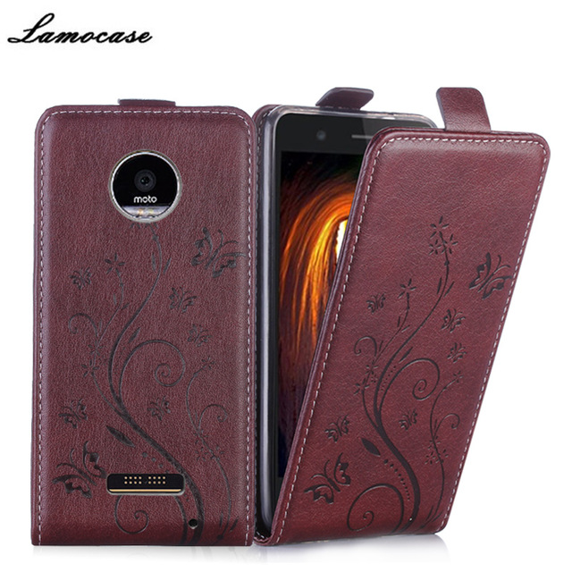 pick up eca3e 870ed US $8.99 |Top Leather Case For Motorola Moto Z Play Droid XT1635 Flip Cover  Phone cases Classical Embossing Phone Bags housing phone shell-in Flip ...