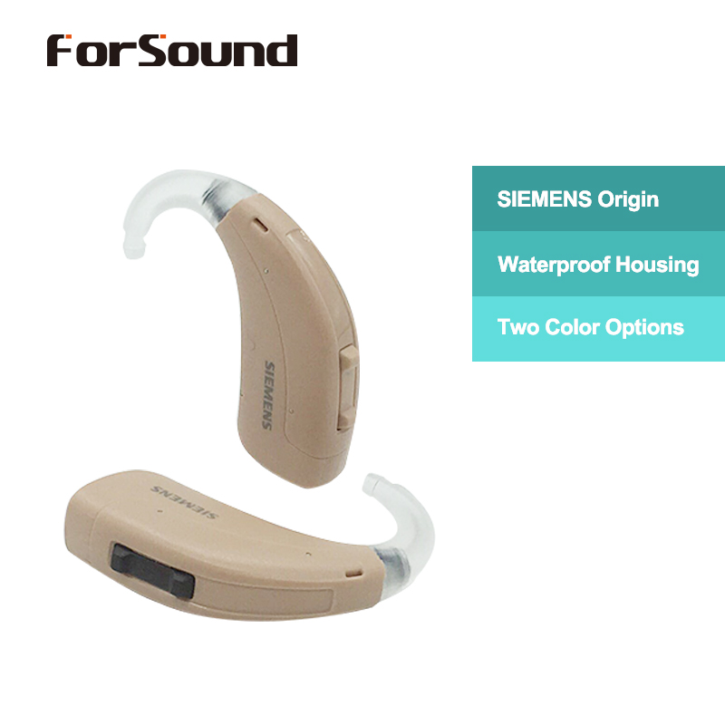Siemens Hearing Aid FAST P Upgrade version of Touching Lotus 12P with Rechargeable Battery A13 and
