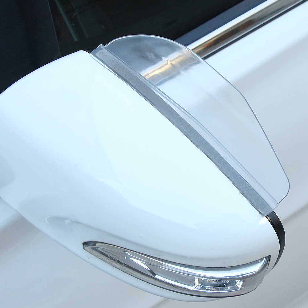 1 paar auto rückspiegel regen augenbraue sonnenblende für Skoda Octavia Fabia Schnelle Superb Yeti Roomster