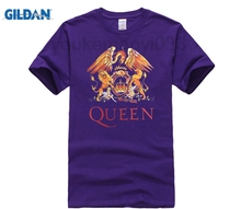 GILDAN Music rock top100 band queen t-shirt male short-sleeve new arrival Fashion Brand t shirt