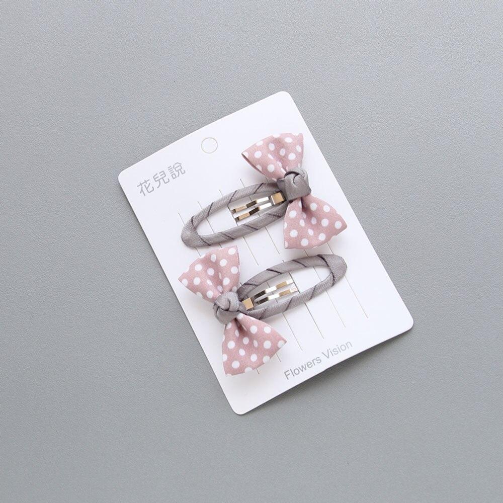 粉色BB夹
