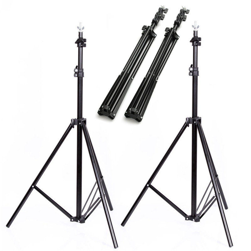 ФОТО Durable 6.5 ft * 9.2 ftBlack Aluminium Alloy Collapsible Background Support Stand Kit Adjustable Crossbars Photography Holder