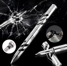 COG T10 Self Defense Tool Titanium alloy EDC Tactical Pen Whistle Allen Key Saw Bottle Openner Survival Self-Defense Knife