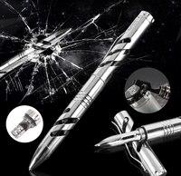 COG T10 Self Defense Tool Titanium alloy EDC Tactical Pen Whistle Allen Key Saw Bottle Openner Survival Self Defense Knife