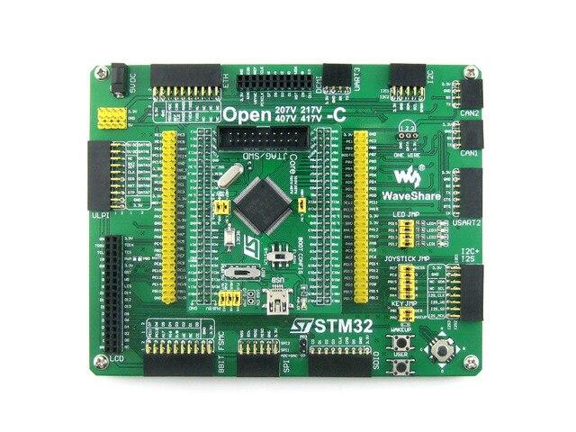 STM32 Борту STM32F407VET6 STM32F407 STM32 ARM Cortex-M4 Совет По Развитию + PL2303 USB UART Конвертер = Open407V-C Стандарт