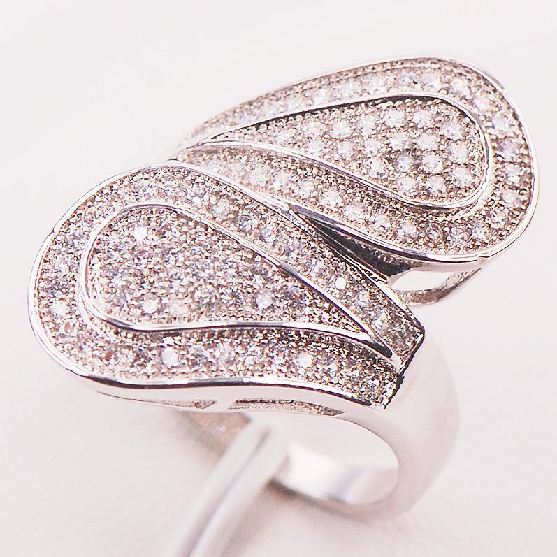 Enorme Witte Crystal Zirkoon 925 Sterling Zilveren Ring Maat 5 6 7 8 9 10 11 12 F585 Mode Groothandel Sieraden Gratis verzending