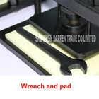 Mano de corte de cuero máquina de foto de papel de PVC/hoja de EVA molde manual molde para cuero/máquina de cortar manual morir prensa - 6
