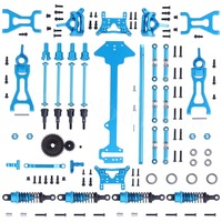 1 Set Wltoys A979 Complete Upgrade Kit For RC 1/18th Scale 4WD Electric RTR Monster Truck Off road Car Metal Accessories