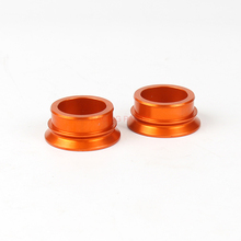 цена на Orange Billet Rear Axle Wheel Hub Spacers For  SX SX-F 125 144 150 200 250 300 350 400 450 2013-2016 XC-F 125-450 2015-2016