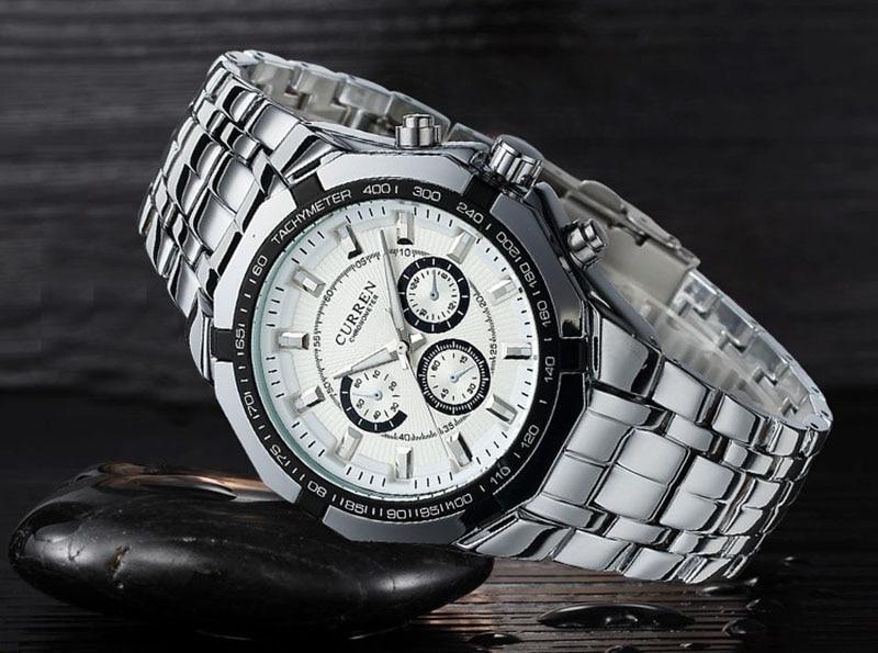 HTB1 JfPky0TMKJjSZFNq6y 1FXac - Для мужчин Бизнес часы Curren Для мужчин S Часы лучший бренд класса люкс Военное Дело Полный Нержавеющая сталь кварцевые наручные часы Relogio Masculino
