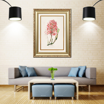 Artcozy Golden Frame Abstract tallo simpodial Waterproof Canvas Painting