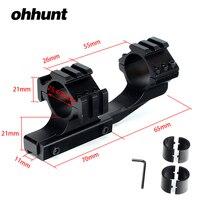 Ohhunt Hunting Tactical 1 inch 25.4 mét 30 mét Bù Đắp Rifle Phạm Vi 11 mét 3/8