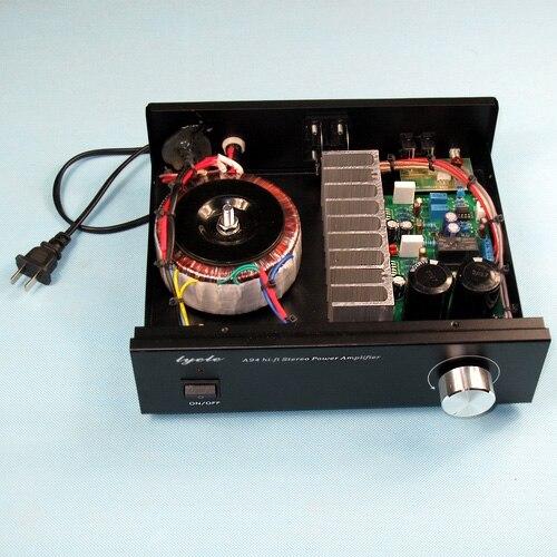 Bricolage HIFI fièvre classique ampli NE5532 + TDA7293 (TDA7294) avec protection haut-parleur 80 W * 2 2.0 canaux amplificateur numérique