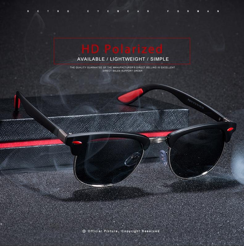 ASUOP 2019 New Polarized Sunglasses for Women UV400 Fashion Round Men's Glasses Classic Retro Brand Design Driving Sunglasses (6)
